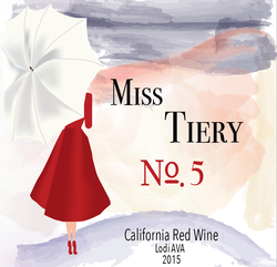 Bottle of Miss Tiery No. 5
