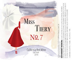 Bottle of Miss Tiery No. 7