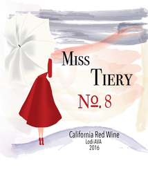 Bottle of Miss Tiery No. 8
